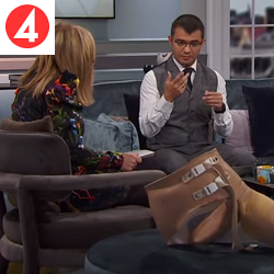 Malou Efter tio (TV4): World Unique Prosthesis Research - Feels like a real body part - 19/11/2019