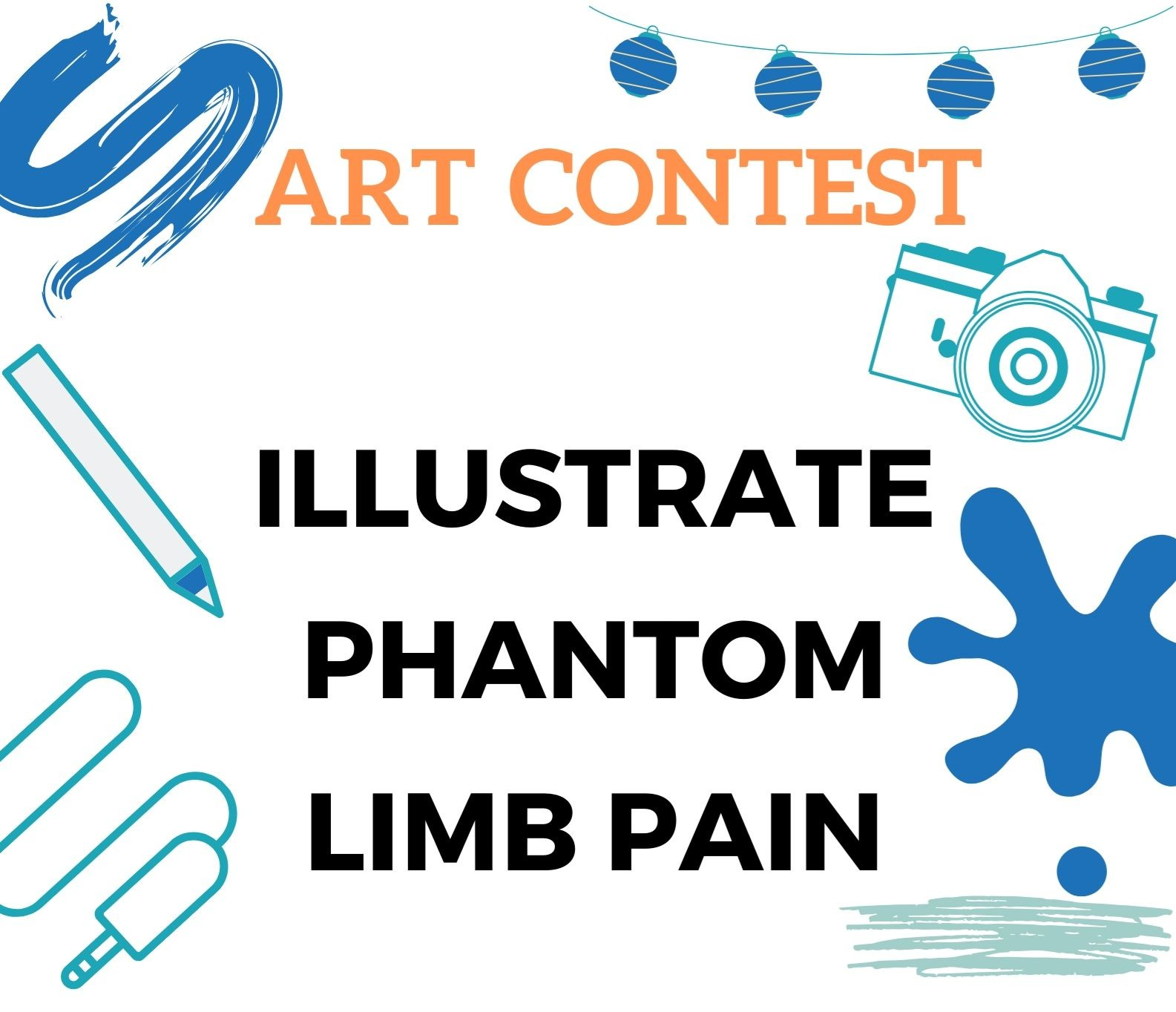 Illustrate Phantom Limb Pain:ICPLP2021 Art Contest